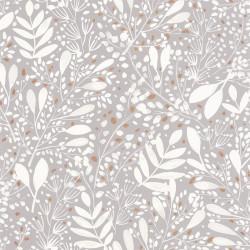Papier peint Joy gris blanc or - GREEN LIFE - Caselio - GNL101699002