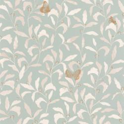 Papier peint Sweet vert d'eau or - GREEN LIFE - Caselio - GNL101717026