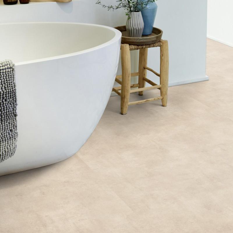 Sol PVC - Kiruma warm beige - Iconik LifeTex TARKETT- rouleau 3M