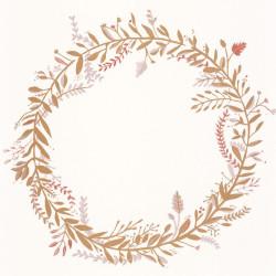 Papier peint Harmony rose or - GREEN LIFE - Caselio - GNL101684026