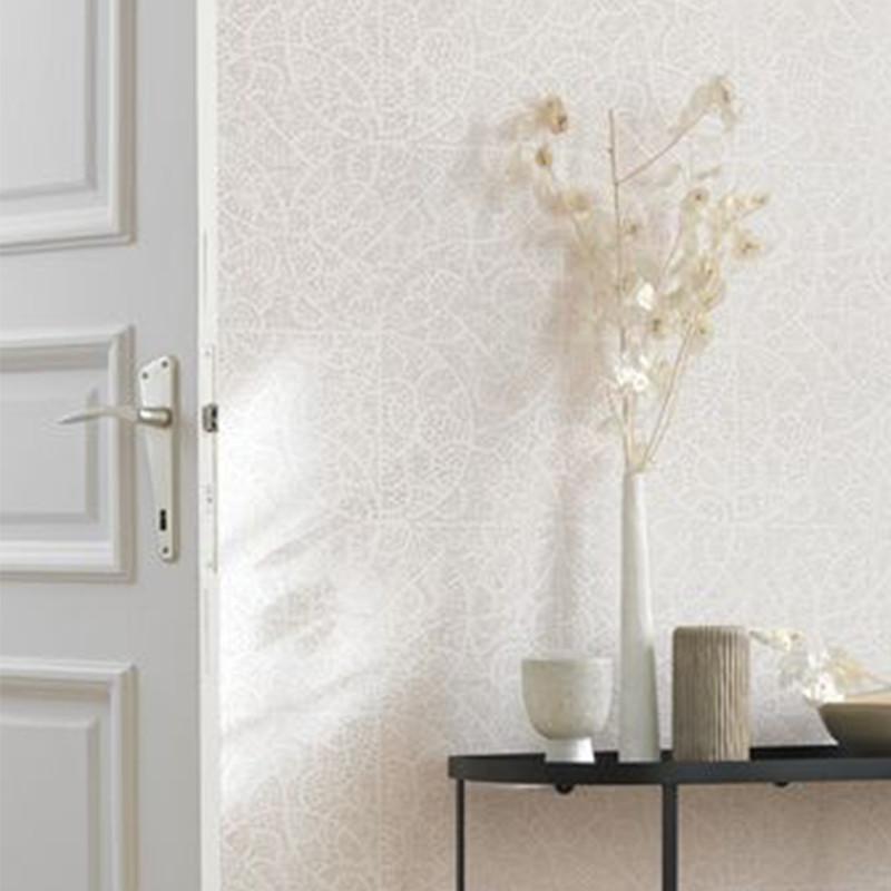 Papier peint Rosa taupe - JARDINS SUSPENDUS - Casadeco - JDSP85211306