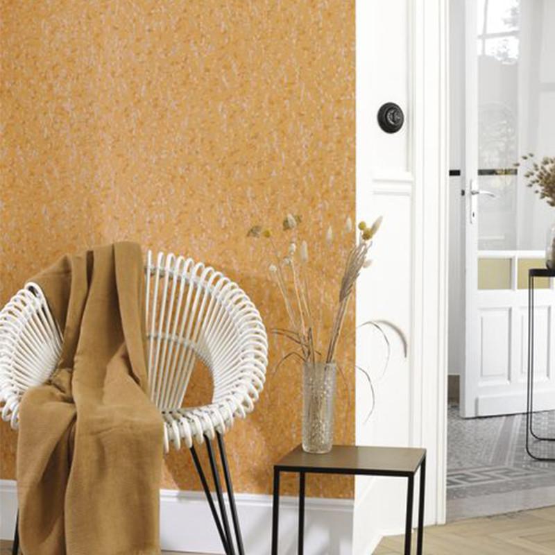 Papier peint Ecorce jaune - JARDINS SUSPENDUS - Casadeco - JDSP85222411