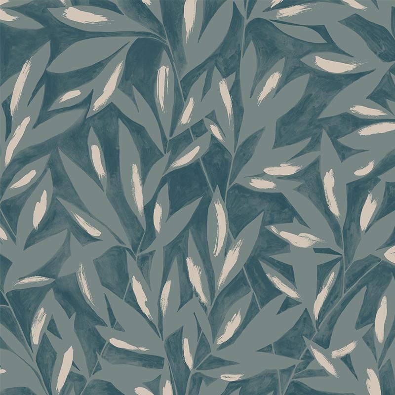 Papier peint Tamaris vert - JARDINS SUSPENDUS - Casadeco - JDSP85247314