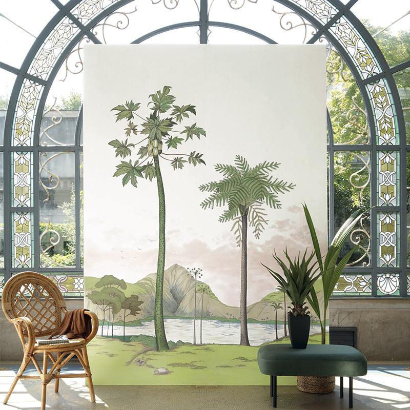 Panoramique Laguna vert -CUBA- Casadeco CBBA84377454