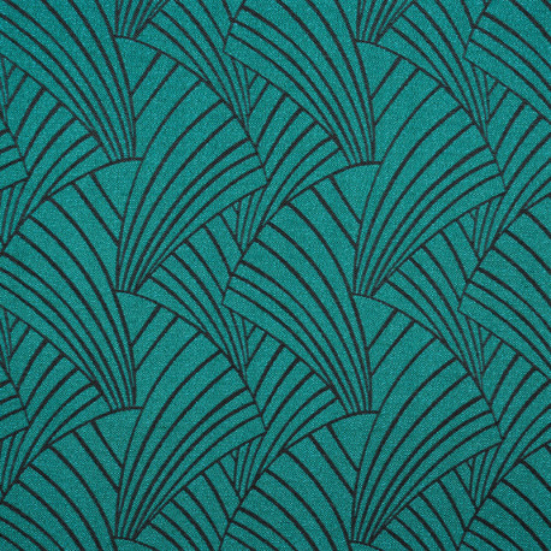 Rideau à œillets Ardeco vert émeraude - Linder - 0986-88