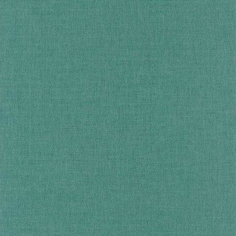 Papier peint Uni vert menthe foncé - LINEN - Caselio - LINN68527601