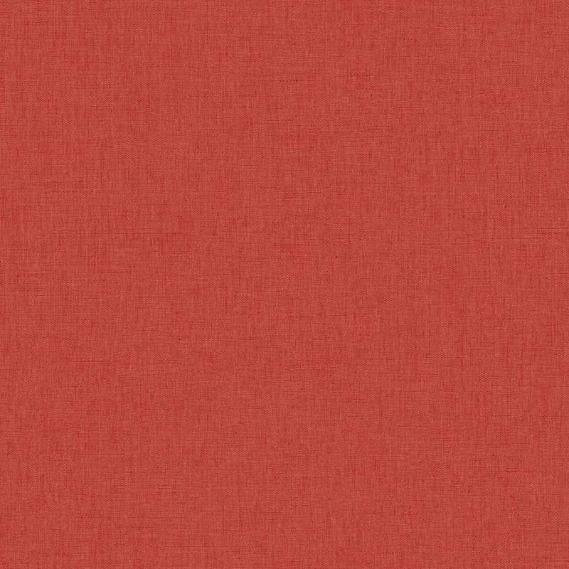 Papier peint Uni rouge - LINEN - Caselio - INN68528000