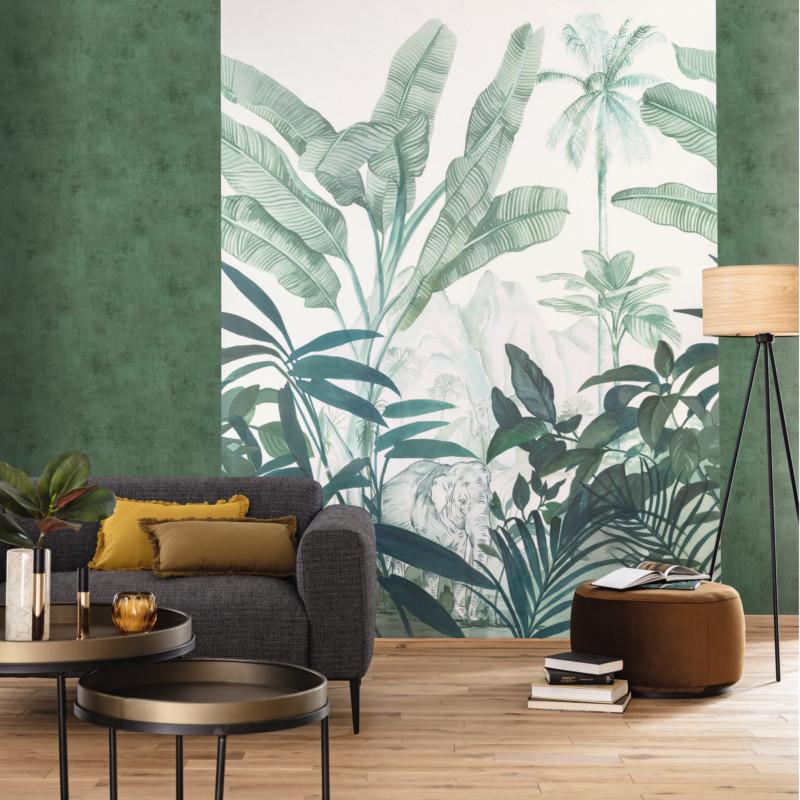 Panoramique Hathi vert - BEAUTY FULL IMAGE  - Caselio - BFI101287809