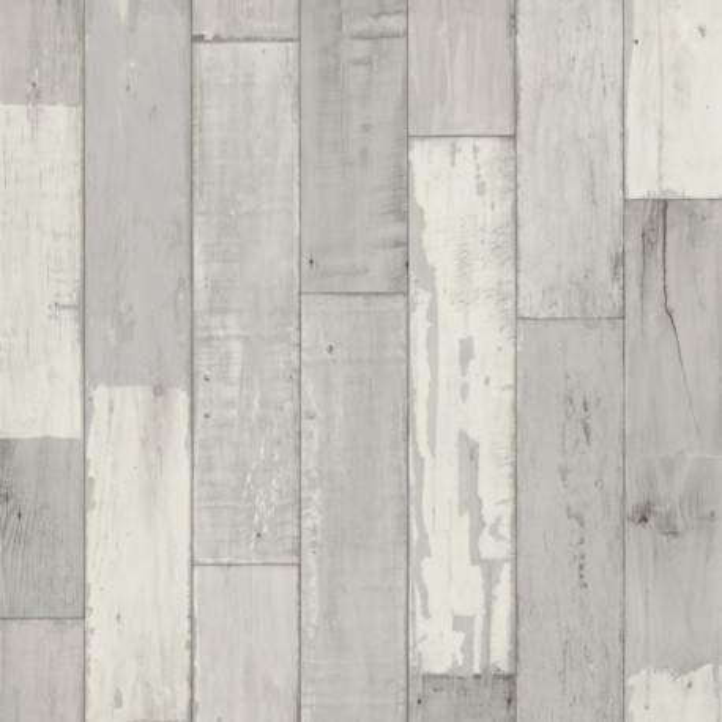 Sol PVC - Fisherman Washed parquet gris blanchi - Primetex GERFLOR - rouleau 3M