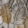 Papier peint vinyle sur intissé SABAL taupe - Collection MANILLE - CASAMANCE