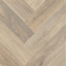 Sol PVC - Patagonia 556 chevrons bois naturel - Texmark IVC - rouleau 4M