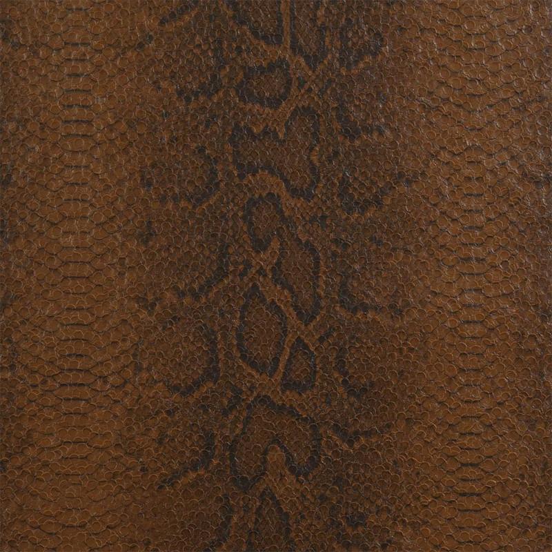 Papier peint Python marron cuir - ELIXIR - Casamance - 9770357