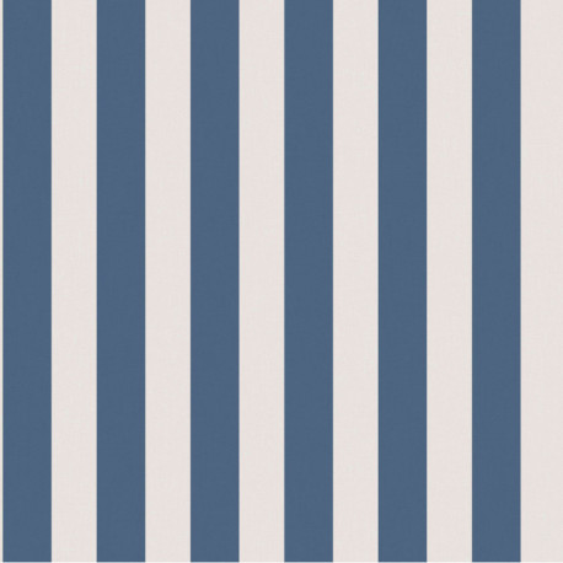 Papier peint Rayures bleu marine et écru - FREGATE - Casadeco - FRG20036100