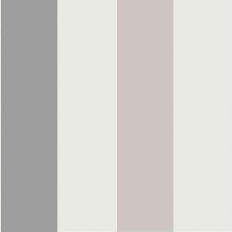 Papier peint Rayures larges gris - FREGATE - Casadeco - FRG20029115