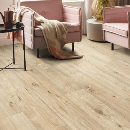 Sol PVC - Anapurna 532 parquet bois clair - Texmark IVC - rouleau 4M