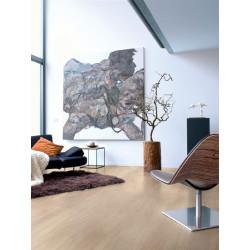 QUICKSTEP - Lames stratifiées clipsables : ELIGNA - chêne verni gris clair planches