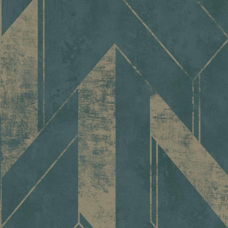 Papier peint Scilla bleu - JUNGLE FEVER - Grandeco Life - JF3203