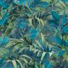 Papier peint à motif PARADISE FLOWER bleu JF2302 - JUNGLE FEVER - Grandeco