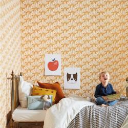 Papier peint Savannah ocre - OUR PLANET - Caselio - OUP101942124