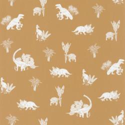 Papier peint Jurassic World ocre - OUR PLANET - Caselio - OUP101932112
