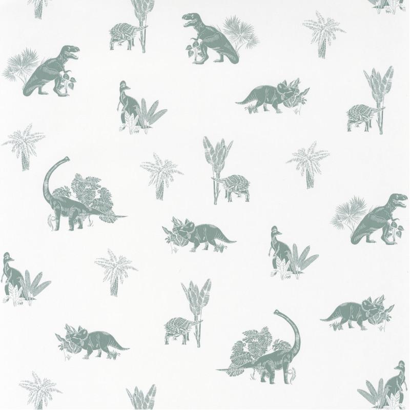 Papier peint Jurassic World blanc - OUR PLANET - Caselio - OUP101937105