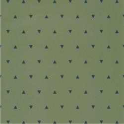 Papier peint Bermuda Triangle vert kaki et bleu nuit - OUR PLANET - Caselio - OUP101997400