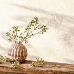 Papier peint September beige - FLOWER POWER - Caselio - FLP101891010