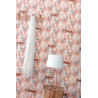 Papier peint à motif FANTASIE WORLD rose pêche blanc cuivre PTB101774001 - THE PLACE TO BED - CASELIO