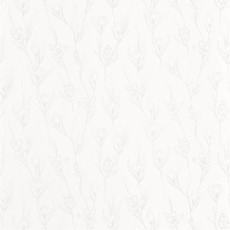 Papier peint Day Dreaming blanc irisé - THE PLACE TO BED - Caselio - PTB101780020