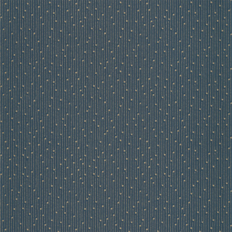 Papier peint Lullaby bleu madura or - THE PLACE TO BED - Caselio - PTB101836126