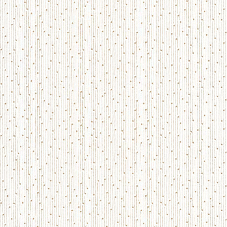Papier peint Lullaby blanc or - THE PLACE TO BED - Caselio - PTB101830025