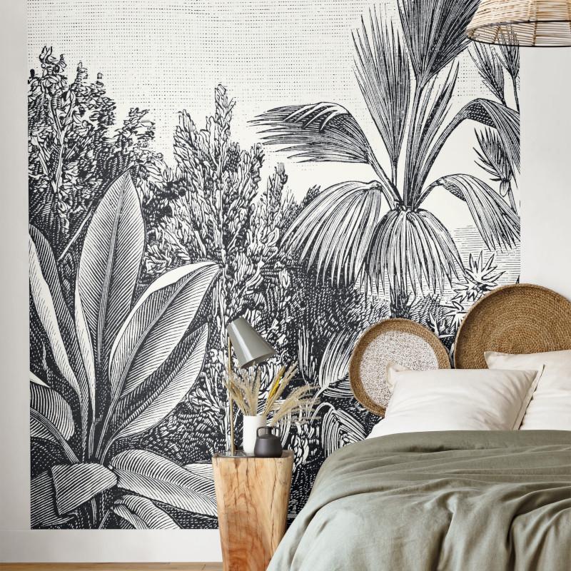 Panoramique Escape noir et blanc - THE PLACE TO BED - Caselio - PTB102059018