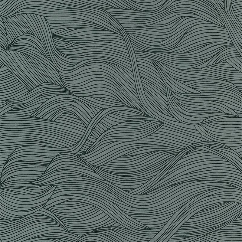 Papier peint Alula vert d'eau - BLOSSOM - Casamance - 74360416
