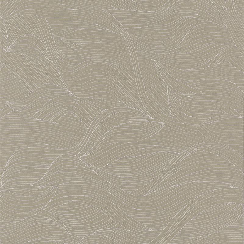 Papier peint Alula taupe - BLOSSOM - Casamance - 74360314