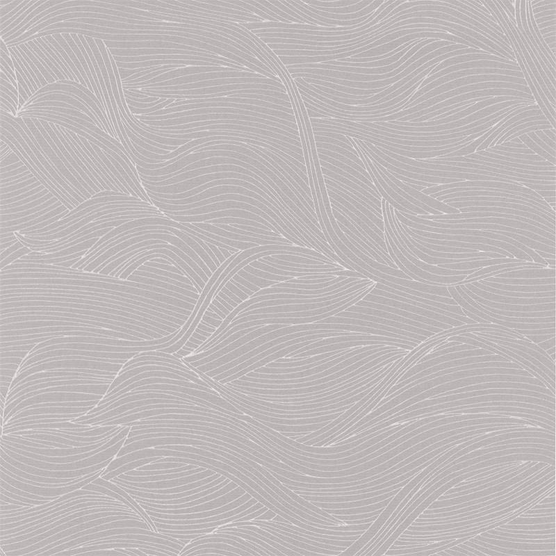 Papier peint Alula gris perle - BLOSSOM - Casamance - 74360212
