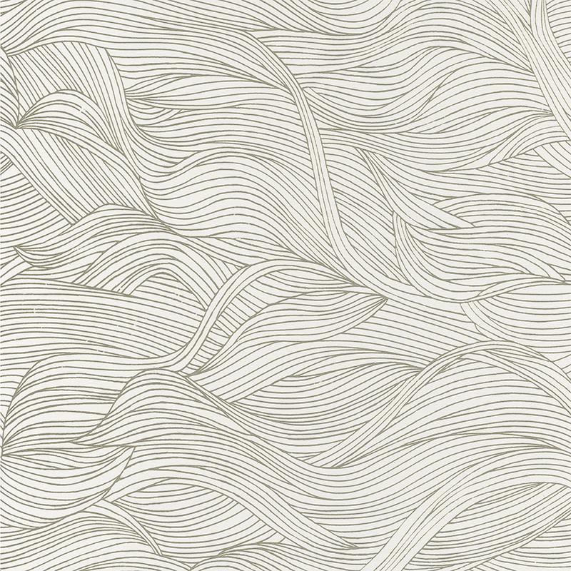 Papier peint Alula neige - BLOSSOM - Casamance - 74360110
