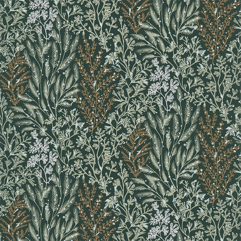 Papier peint Isoete vert d'eau - BLOSSOM - Casamance - 74350324