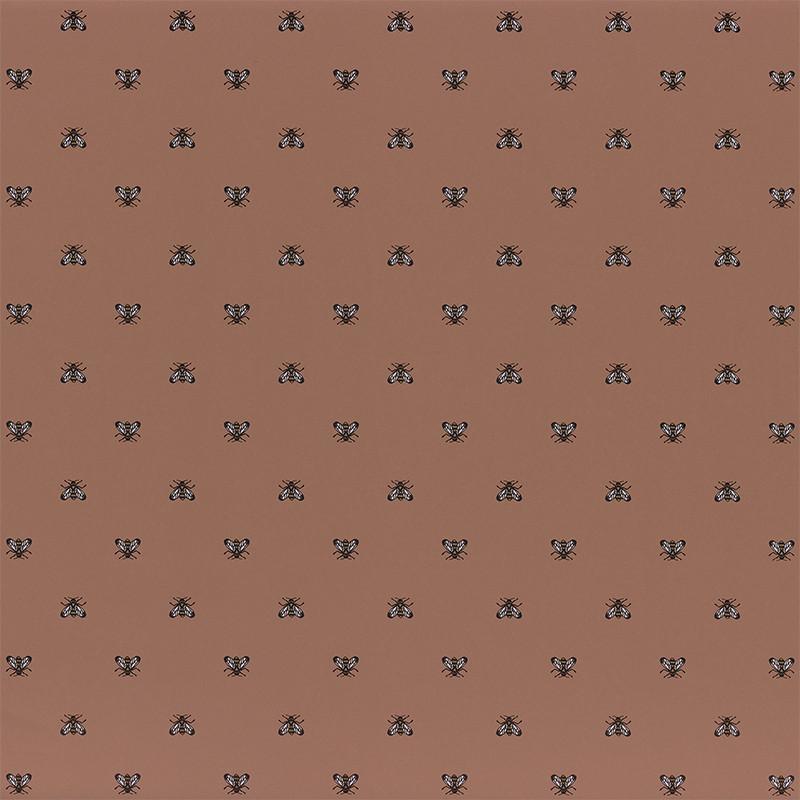 Papier peint Apis terracotta - BLOSSOM - Casamance - 74340581