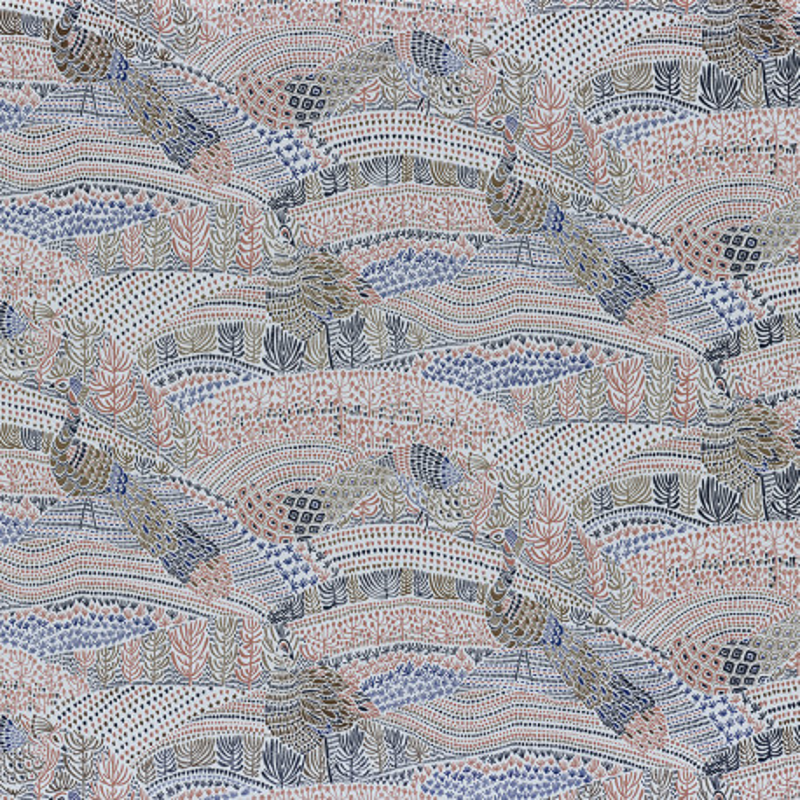 Papier peint Eden beige - BLOSSOM - Casamance - 74330297