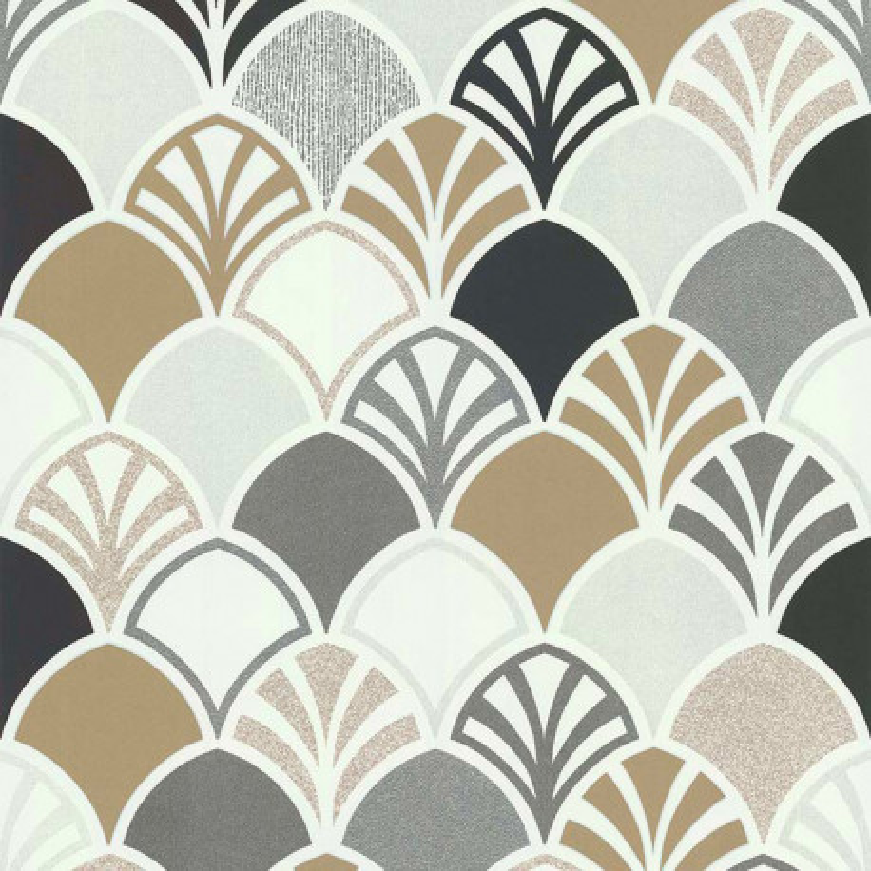 Papier peint Arcade gris - PARK AVENUE - Lutèce - 51193109