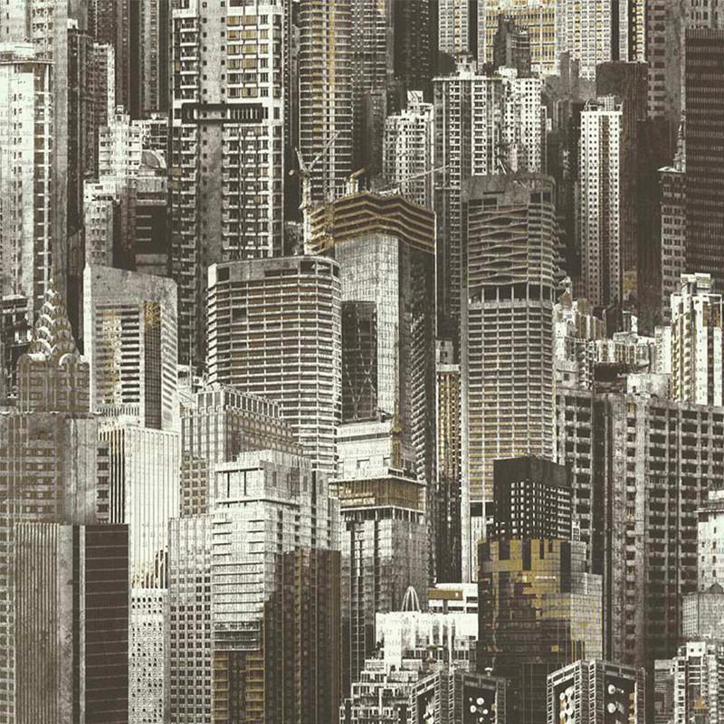 Papier peint Building gris - PARK AVENUE - Lutèce - 51192409