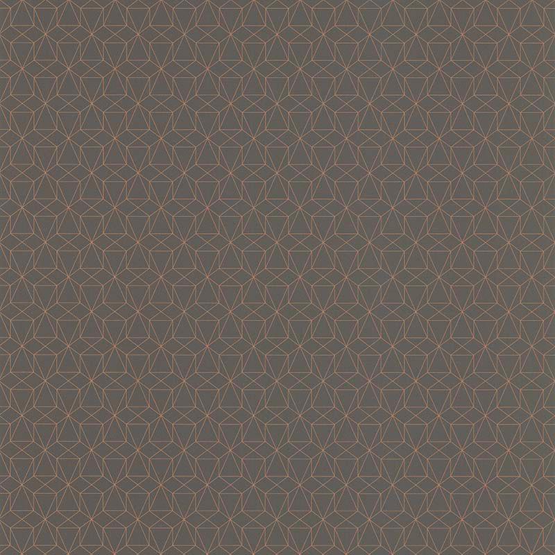 Papier peint Graphique taupe - PARK AVENUE - Lutèce - 51192708
