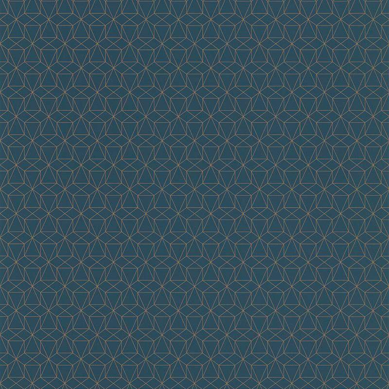 Papier peint Graphique bleu - PARK AVENUE - Lutèce - 51192701