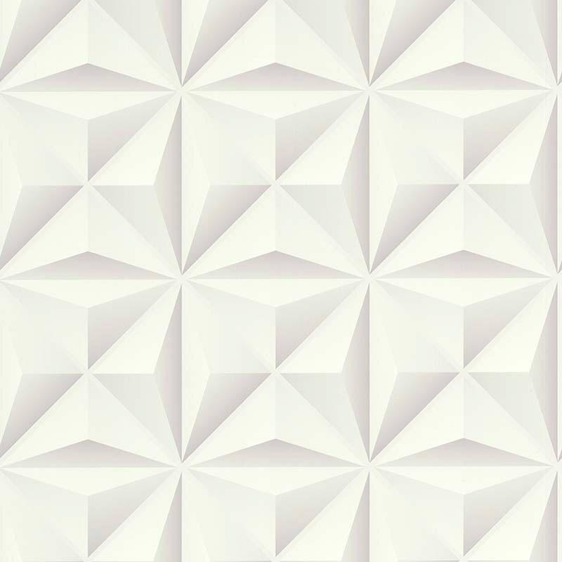 Papier peint Lys 3D blanc - PARK AVENUE - Lutèce - 51176600