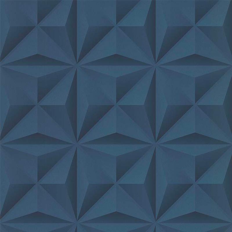Papier peint Lys 3D bleu - PARK AVENUE - Lutèce - 51176601