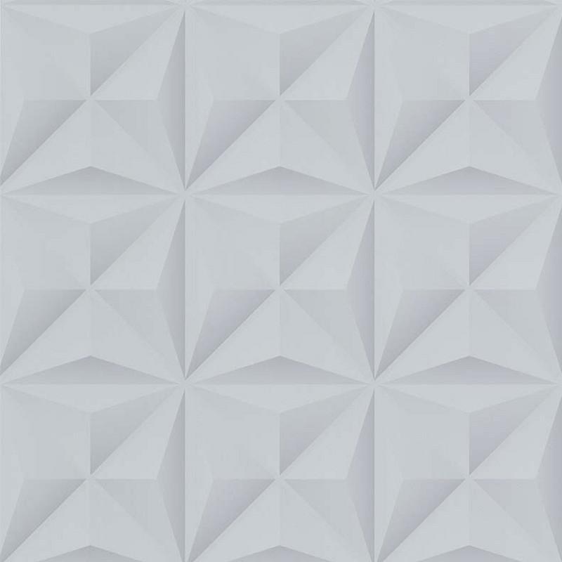 Papier peint Lys 3D gris clair - PARK AVENUE - Lutèce - 51176609