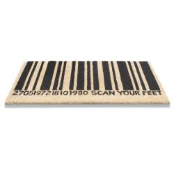 Paillasson naturel extérieur et intérieur RUCO PRINT barcode - Hamat