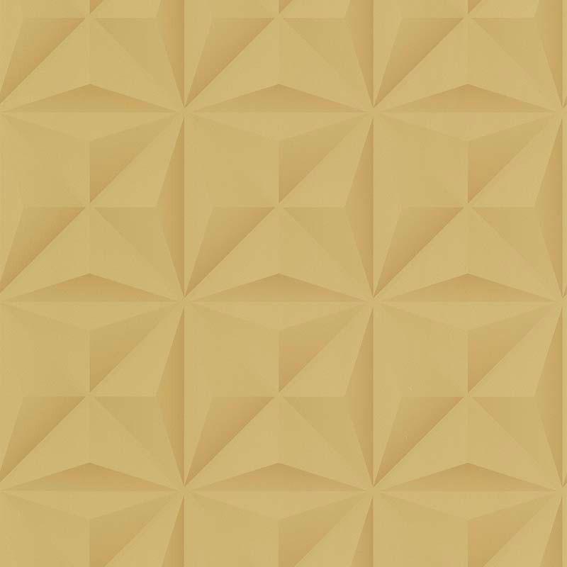Papier peint Lys 3D ocre - PARK AVENUE - Lutèce - 51176602