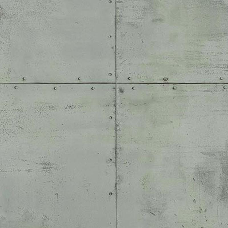 Papier peint Plaque Métal gris - PARK AVENUE - Lutèce - 51193019
