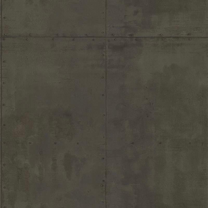 Papier peint Plaque Métal anthracite - PARK AVENUE - Lutèce - 51193029